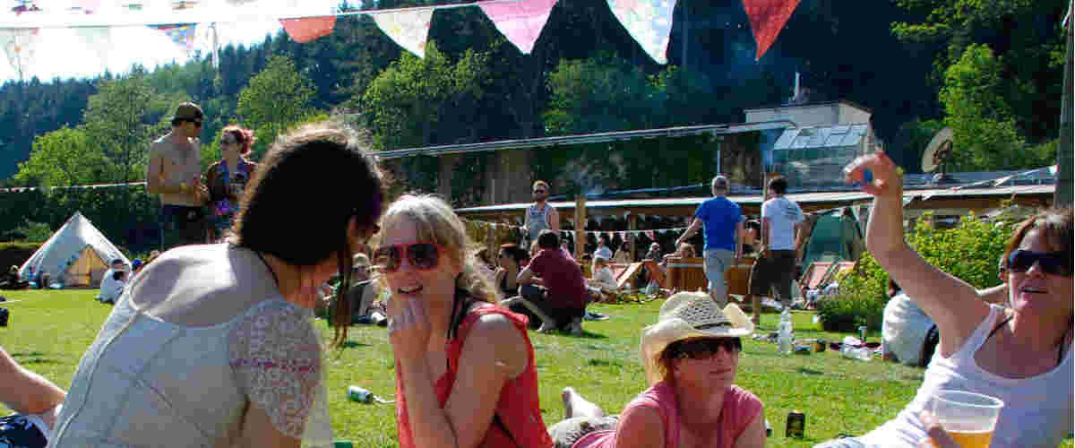 Sunny festival.