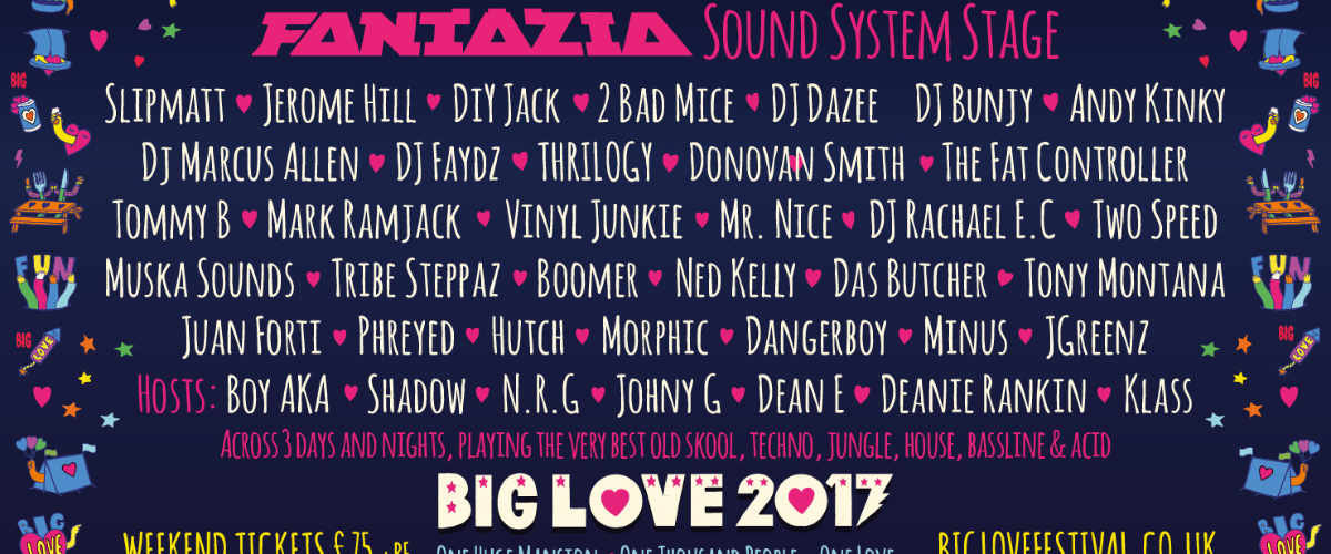 Fantazia at Big Love.