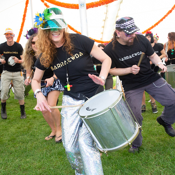 Barracwda samba band.