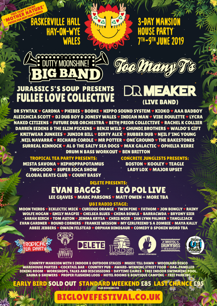 Full line-up please poster.