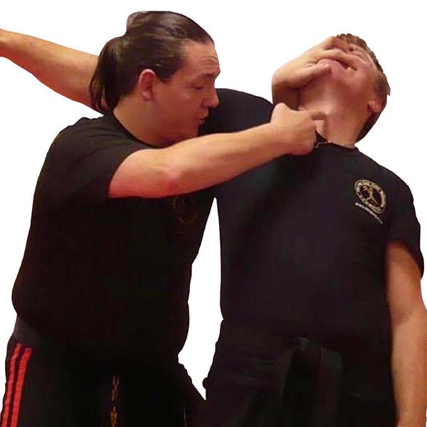 Gary Henshaw self defence class.