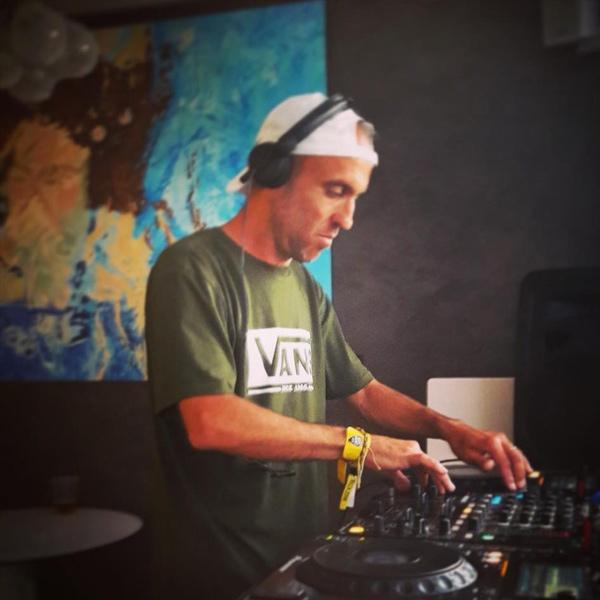 Rave DJ Marcus Allen.