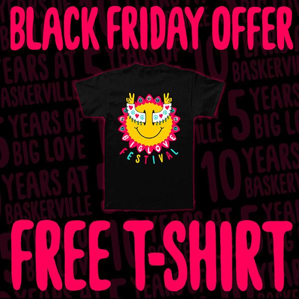 Free t-shirt offer!