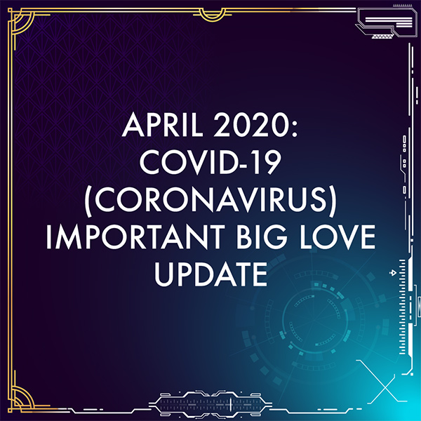 April 2020 important update.