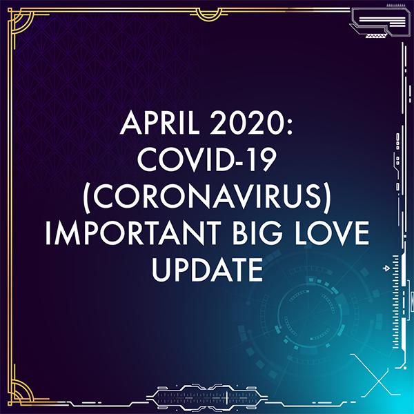 April 2020 important update.