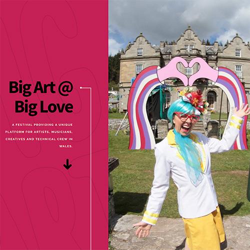 Big Art website.